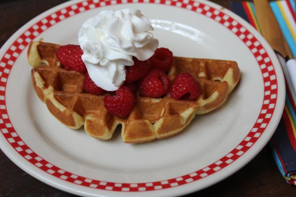 Light and Fluffy Waffles___