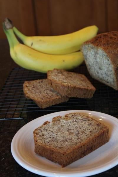 Dairy Free Banana Bread-