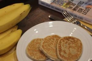 Easy Whole Wheat Banana Pancakes__