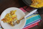 Apple Bacon Cheese Frittata-