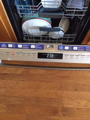 how to put rinse aid in bosch dishwasher
