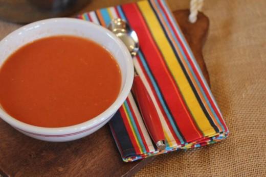 Creamy Dairy Free Tomato Soup_