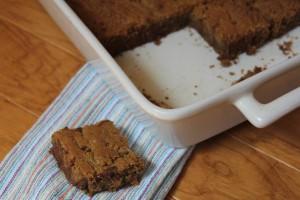 Flourless Chocolate Peanut Butter Bars_