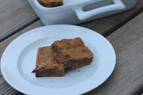 Flourless - Peanut Butter Bars