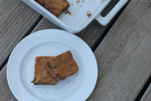 Flourless-Peanut Butter Bars