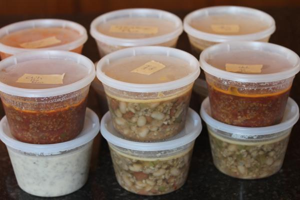 Freezer Cooking Soups
