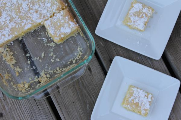 Gluten Free Lemon Bars-