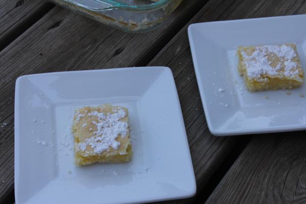 Gluten Free Lemon Bars_