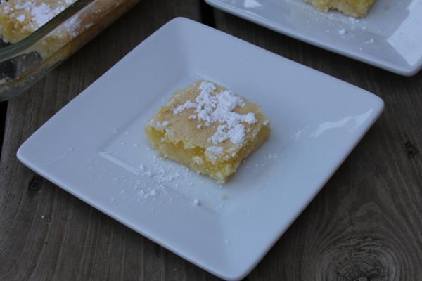 Gluten Free Lemon Bars__