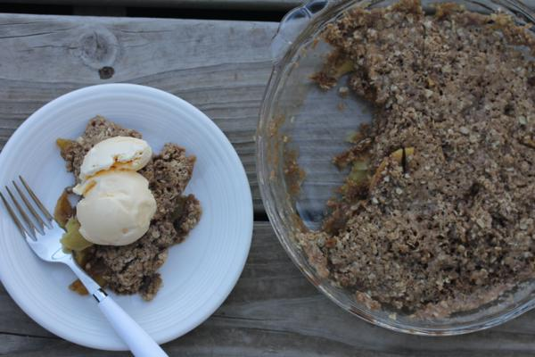 Microwave Apple Crisp__
