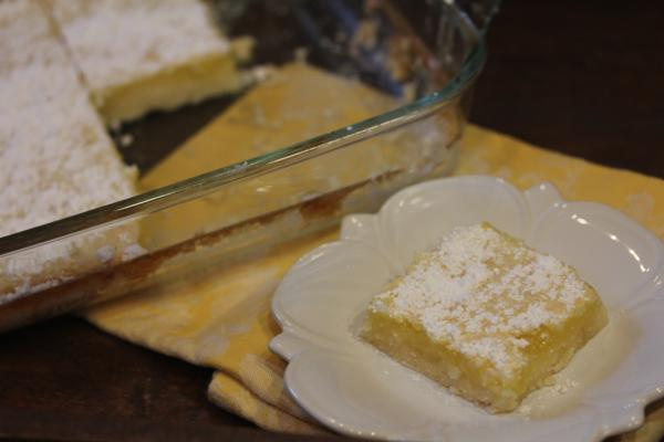 Mom's Lemon Bars-