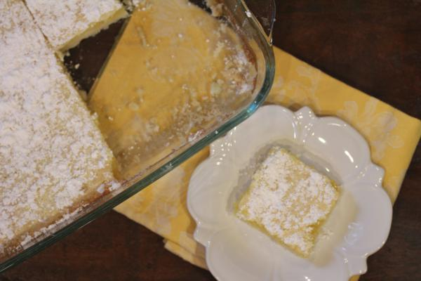 Mom's Lemon Bars--