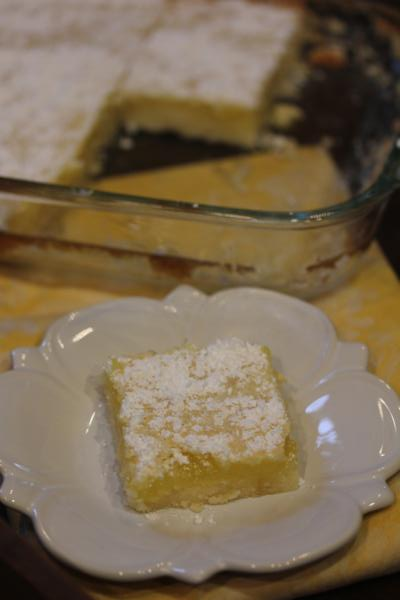Mom's Lemon Bars__