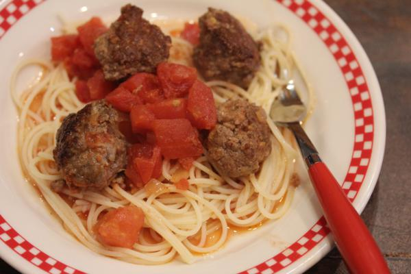 30 Minut Sausage and Meatballs-