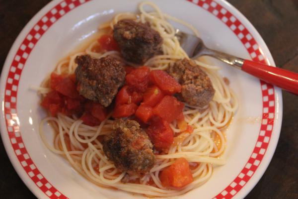 30 Minute Sausage and Meatballs