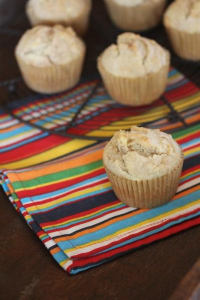 Easy Apple Cinnamon Muffins-