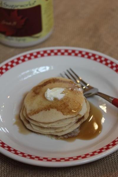 Gluten Free Apple Pancakes-
