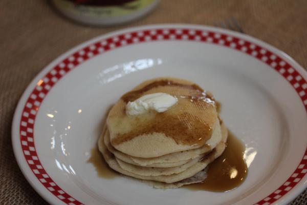 Gluten Free Apple Pancakes