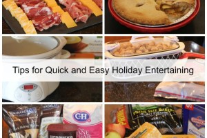 Tips for Quick and Easy Holiday Entertaining