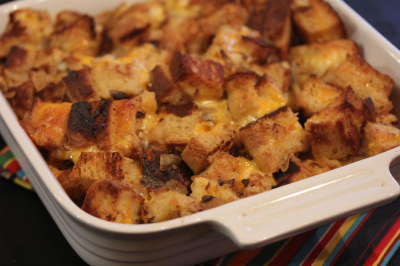 Cheesy Stuffing-