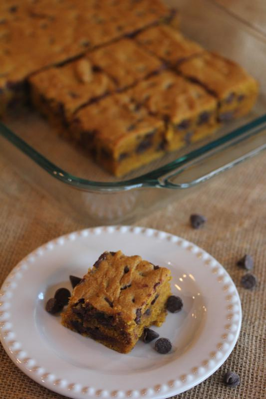 Chocolate-Chip-Pumpkin-Bars