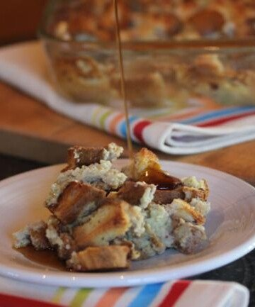 Dairy Free French Toast Casserole