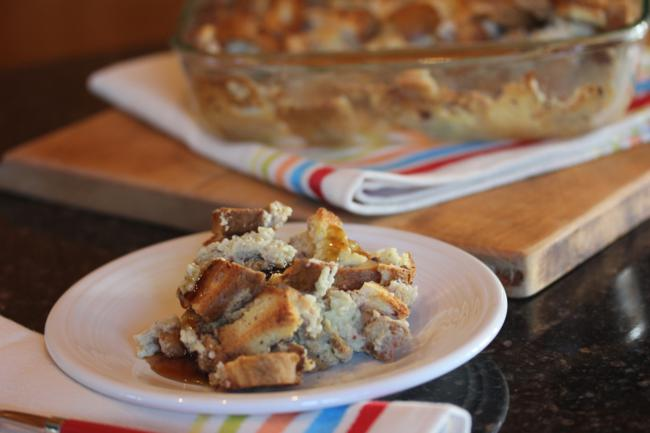 Dairy Free French Toast Casserole--