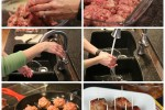 Easy BBQ Sausage Meatballs and Cleaning Up A Messy Kitchen