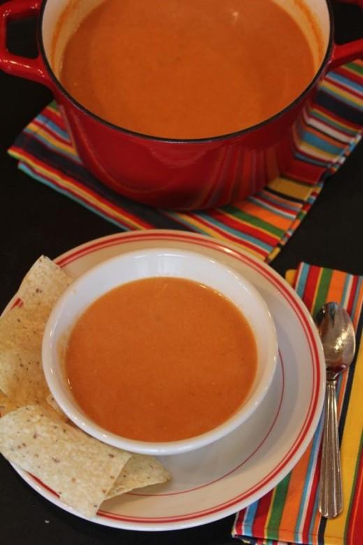 Mexican-Tomato Soup