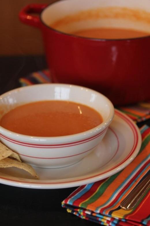 Mexican-Tomato-Soup
