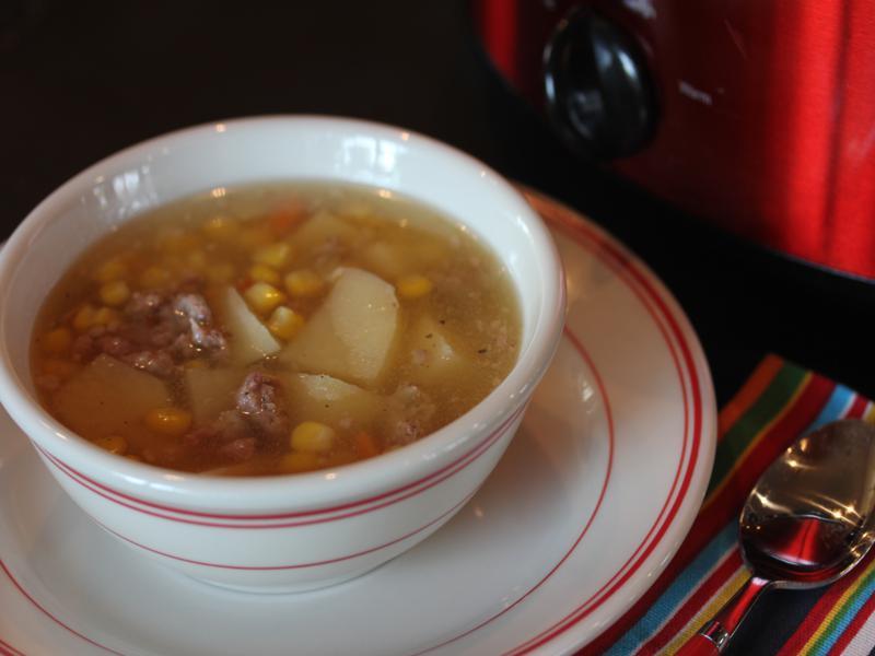 Sausage Potato Corn_