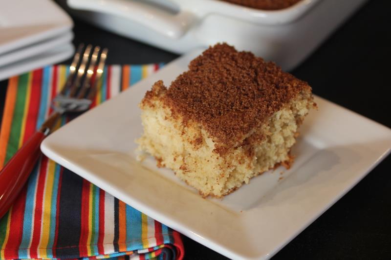 Gluten Free Coffee Cake