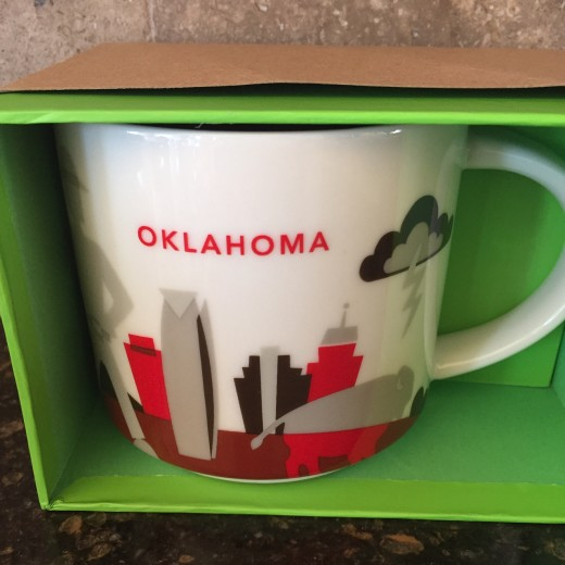 Starbucks Oklahoma Coffee Mug