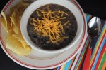 Black Bean Soup {Easy and Inexpensive Dinner Recipe}