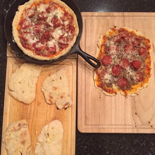 Cast Iron Pizza