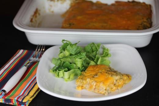 Chicken-Burrito-Casserole