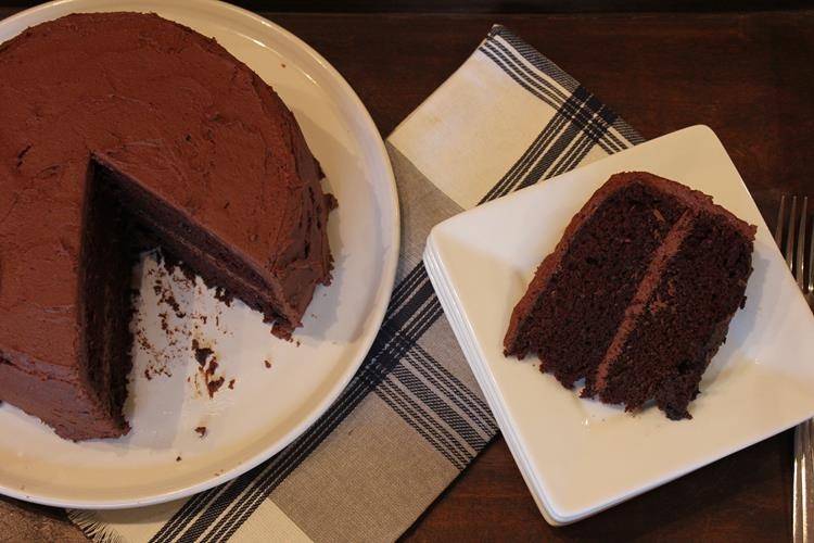 Gluten Free Chocolate Mayonnaise Cake