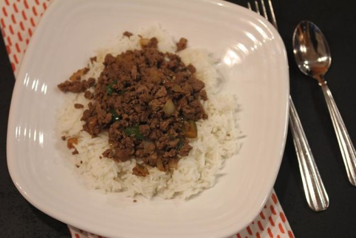 Ground Beef Stir Fry