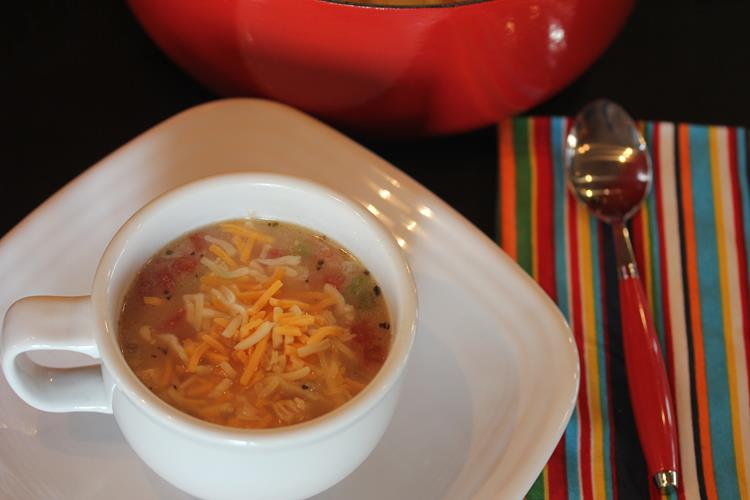 King Ranch Chicken Soup