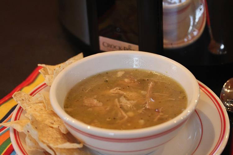 Slow Cooked Chili Verde