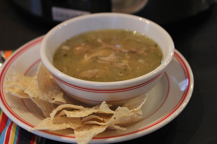 Slow Cooker Chile Verde Recipe — Dishmaps