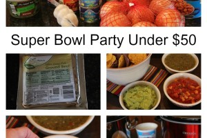 Super Bowl Party Under $50