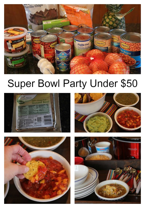 Super Bowl Party Under $50