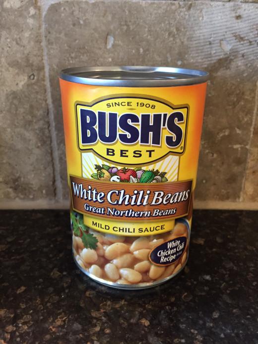 white chili beans
