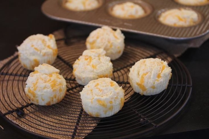 Cheese Muffins with a Gluten Free Option {Cooking Through My Collection}
