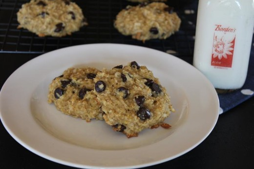 Chocolate Chip Coconut Breakfast Cookies