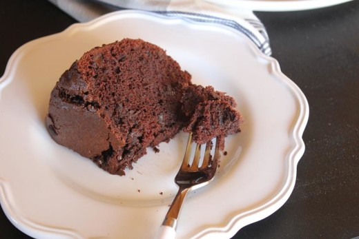 Gluten Free Chocolate Bundt Cake