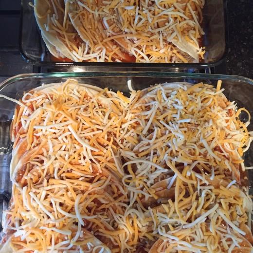 fold over enchiladas