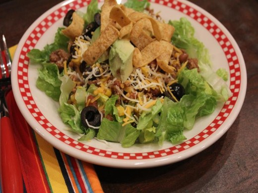 Chili Cheese Salad