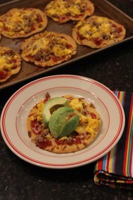 Mexican Breakfast Pizza